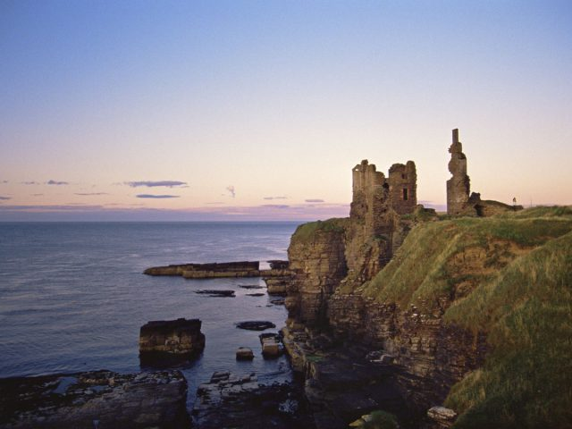 Castle Sinclair Girnigoe, Caithness, the Highlands
