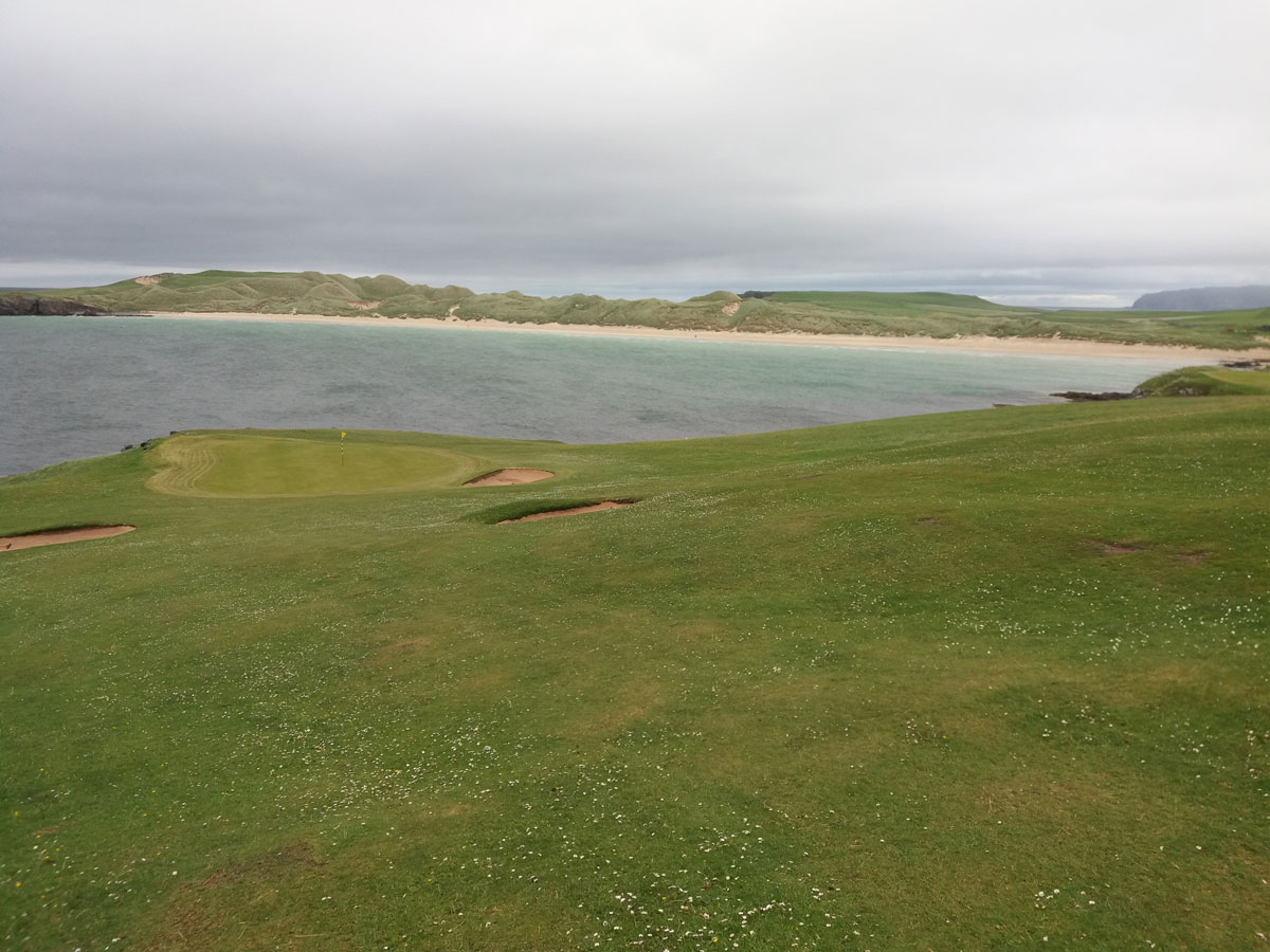 Durness Golf Club 8th green
