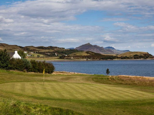 Isle of Skye Golf Club Hole 16