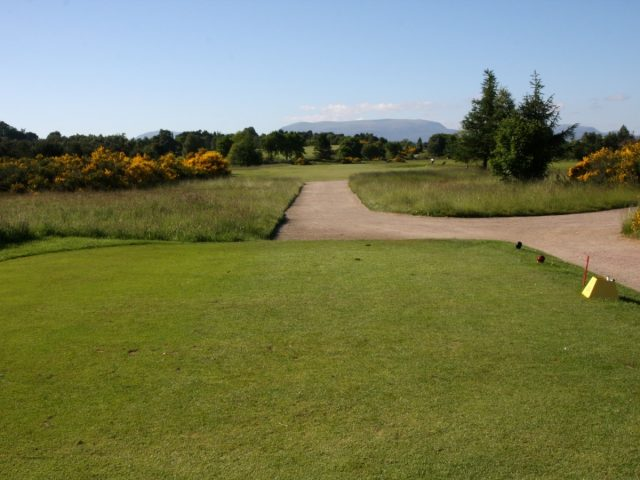 Muir of Ord Golf Cluib 3rd Hole