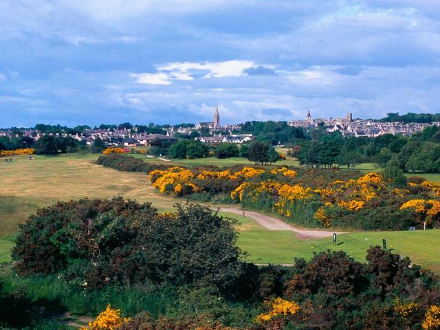 Nairn Dunbar Course and Town