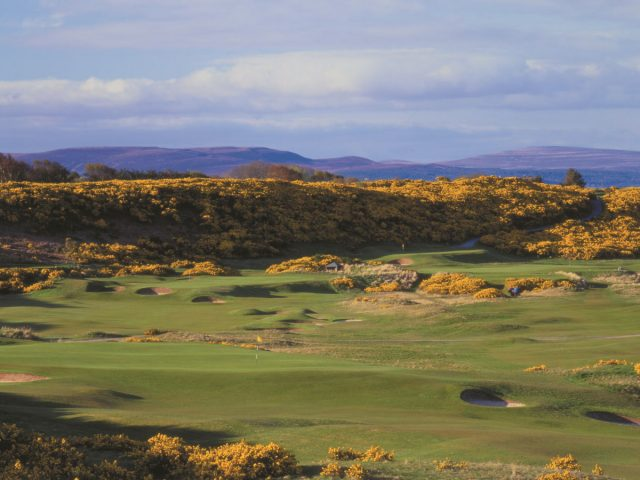 Royal Dornoch 4th green and 5th Championship Course