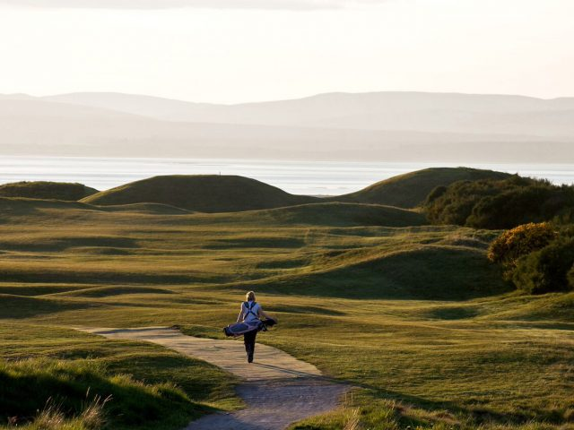 Tain Golf Club - Caroline and the Alps