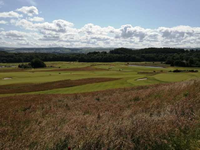 Kings course view 8th july 2019