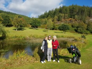 High 9s Pitlochry ladies tour