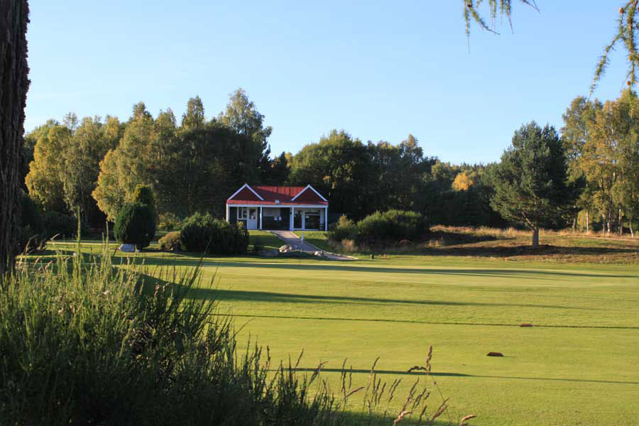 Carrbridge Golf Club Clubhouse