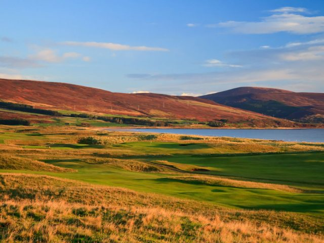 Brora Golf Links 17th Hole.