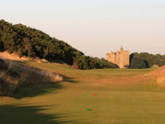 Castle Stuart 4th Hole with Castle