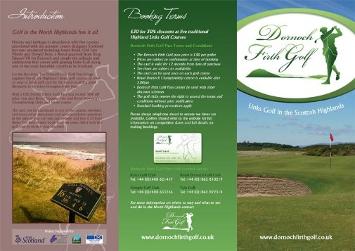 Dornoch Firth Golf Pass