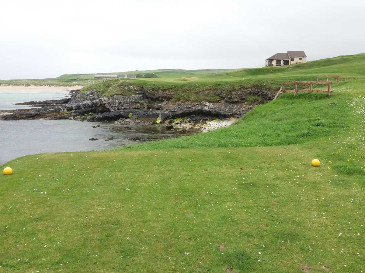 Durness Golf Club 9th hole