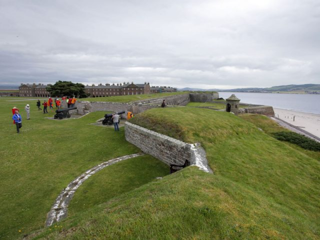 Fort George, a working army base Ardersier, Near Nairn