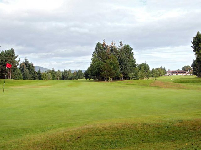 Inverness Golf Club 17th Green