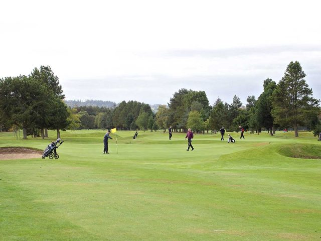 Inverness Golf Club 1st and 4th Green