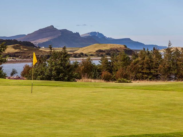 Isle of Skye Golf Club hole 09 -18