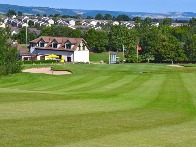 Loch Ness Golf Club 18th