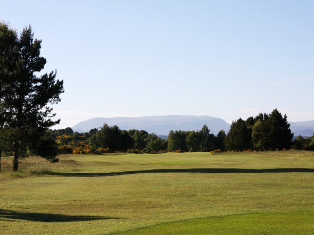 Muir of Ord Golf Club 17th Hole tee