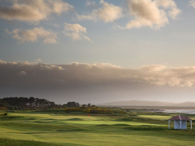 Nairn Golf Club 16th hole