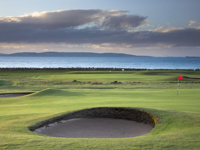 Nairn Golf Links 17th green