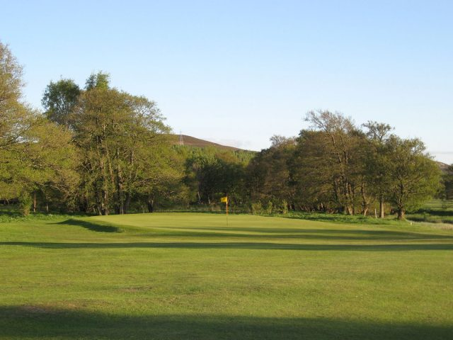 Newtonmore Golf Club 6th Green