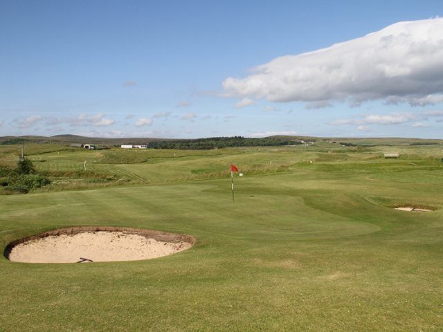 Reay Golf Club 16th ,17th & Clubhouse