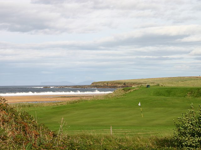 Reay Golf Club 4th from Knockstanger