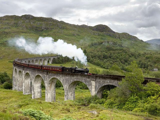 The Glenfinnan Viaduct is a railway viaduct on the West Highland Line in Glenfinnan, Lochaber The Highlands