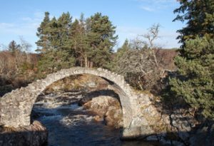 Old Packhorse Bridge, Carrbridge