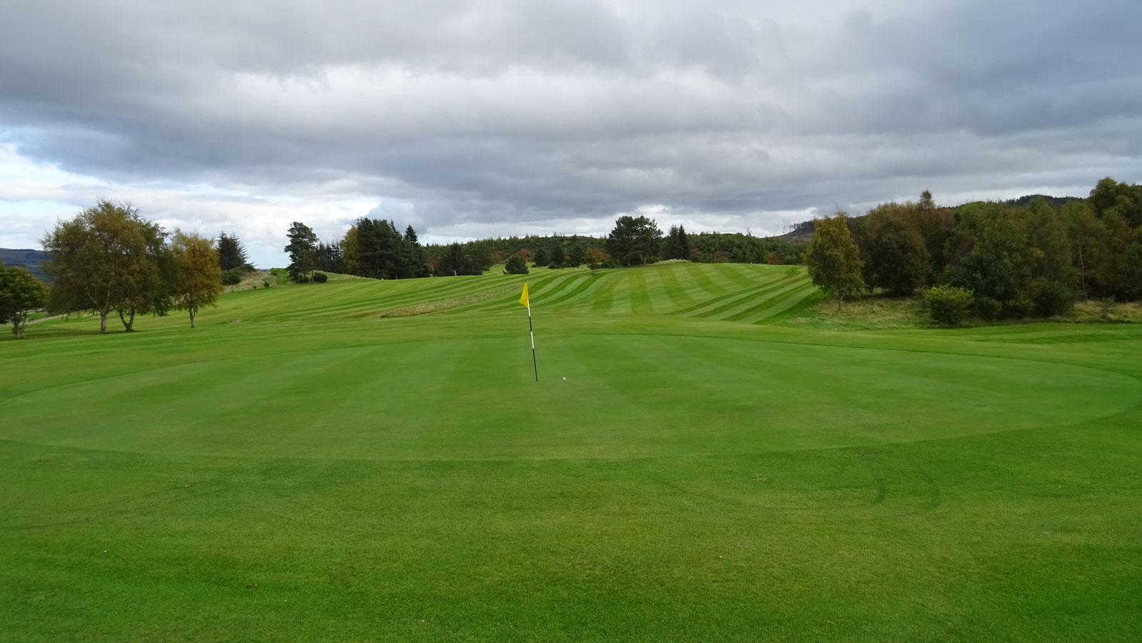 Strathpeffer Spa Golf Club, 13th hole and 15th Fairway