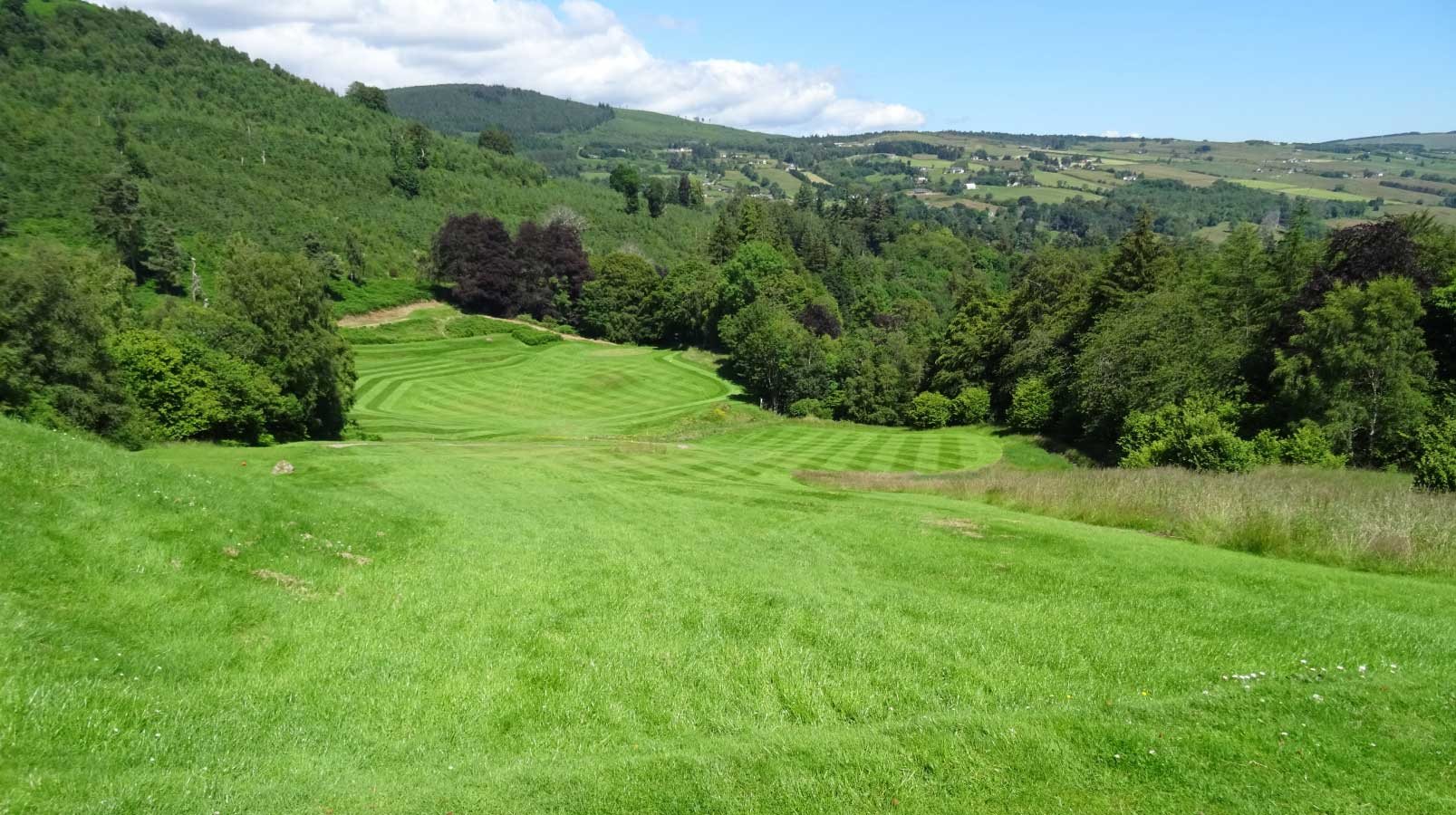 Strathpeffer Spa Golf Club - 1st hole