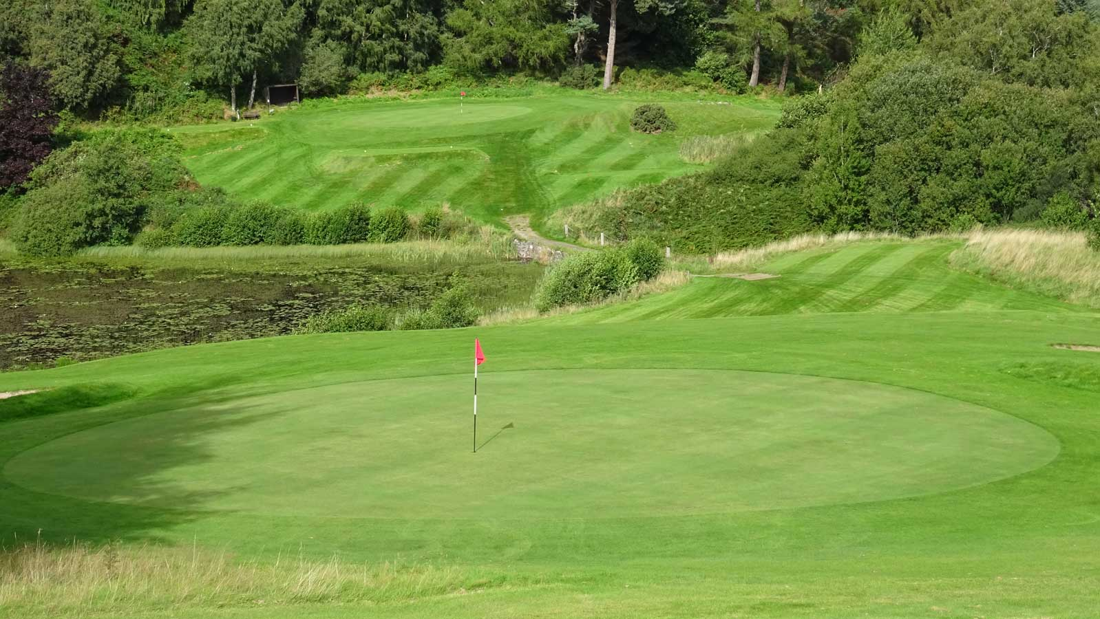 Strathpeffer Spa Golf Club, 3rd hole with 2nd green