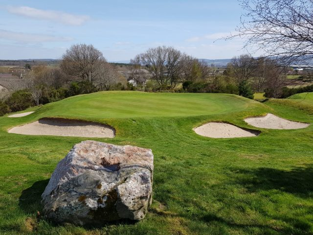 13th hole at Muir of Ord
